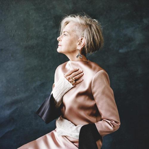 لین اسلاتر lin staler ، پیرترین مدل در دنیای مد - عکس شماره 5