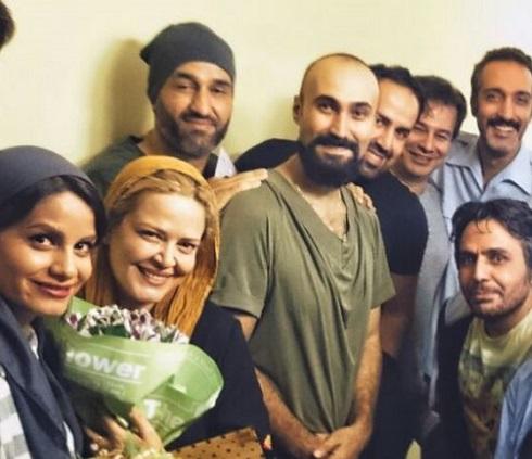 پیمان قاسم خانی به دیدن نمایش اپراتور نسل چهارم رفت