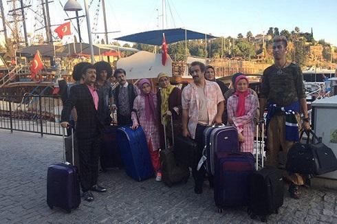 بازیگران پایتخت 5 پس از بازگشت از ترکیه