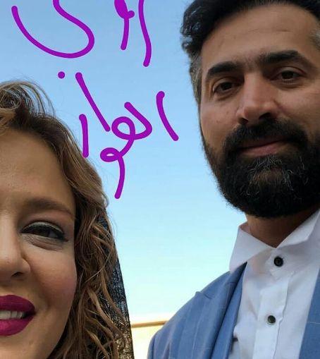 عکس جديد بهاره رهنما و همسرش