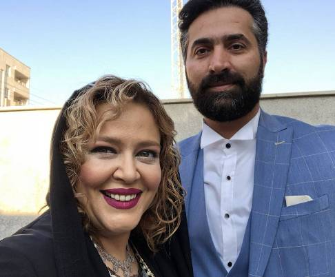 بهاره رهنما و همسرش در اهواز