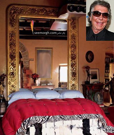 دکوراسیون اتاق خواب روبرتو کاوالی Roberto Cavalli