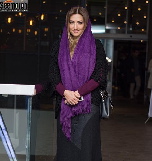 سميرا حسيني در اکران خصوصي آذر