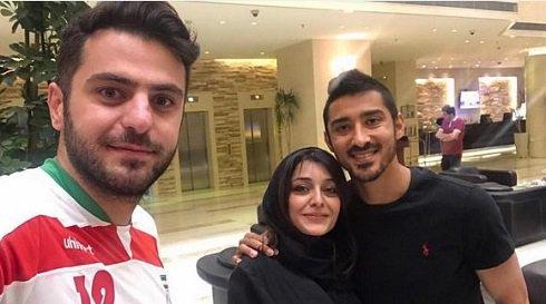 علی ضیا ساره بیات و رضا قوچان نژاد