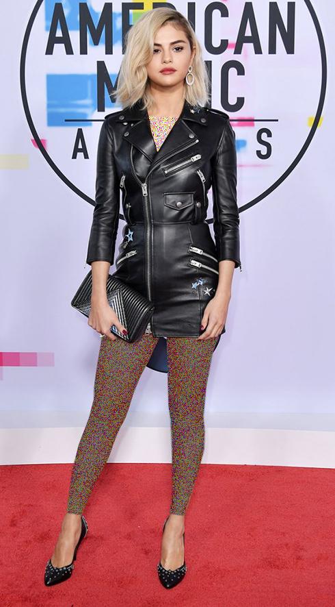 مدل لباس سلنا گومز Selena Gomez در American Music Awards 2017