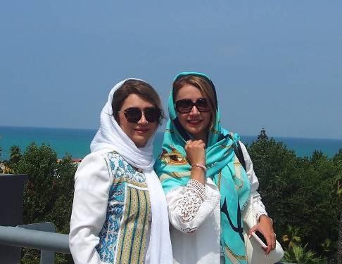 شبنم قلی خانی و خواهرش شیدا قلی خانی