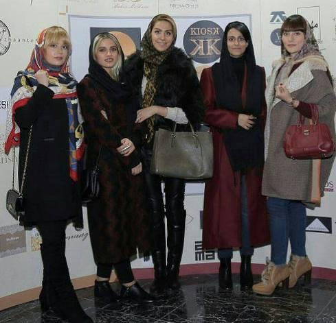 شهرزاد مديري در افتتاحيه برترين طراحان