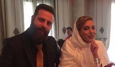 شیما محمدی در کنار همسرش