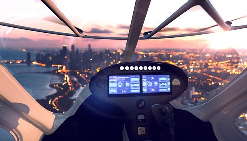 """""""ولوکوپتر""""(Volocopter)  اولین تاکسی پرنده دنیا"""
