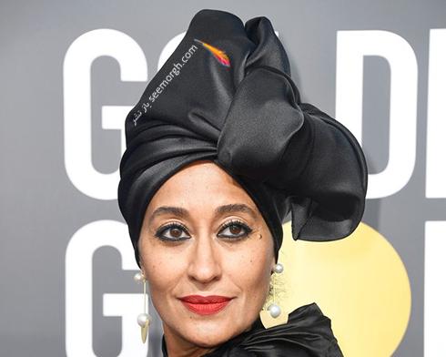 آرايش صورت تريس اليس راس Tracee Ellis Ross در مراسم گلدن گلوب 2018 Golden globe