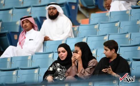 اجازه ورود زنان به استادیوم برای زنان عربستان فقط برای یک بار داده شده است