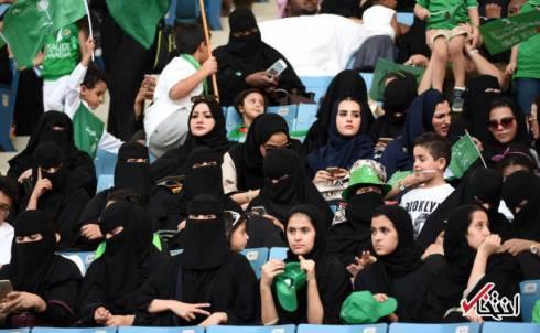زنان عربستانی تا به حال اجازه ورود به استادیوم را حتی در روز ملی این کشور هم نداشتهاند