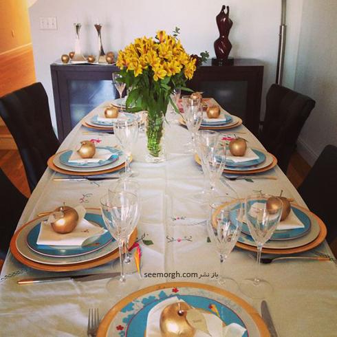 مدل تزيين ميز شام براي شب يلدا - عکس شماره 4