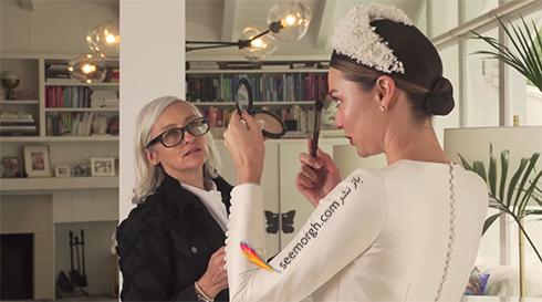 لباس عروس میراندا کر Miranda Kerr - عکس شماره 2