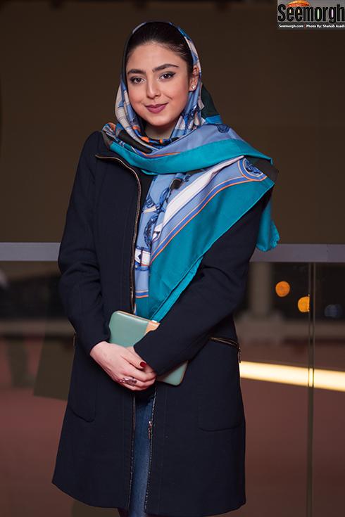 مدل مانتو بازیگران برای دی ماه 1396 - حنا فردین