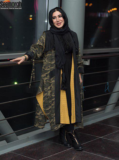 مدل مانتو بازیگران برای دی ماه 1396 - نسیم ادبی