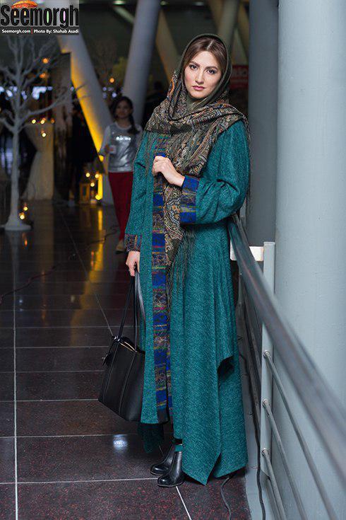 مدل مانتو بازیگران برای دی ماه 1396 - سمیرا حسن پور