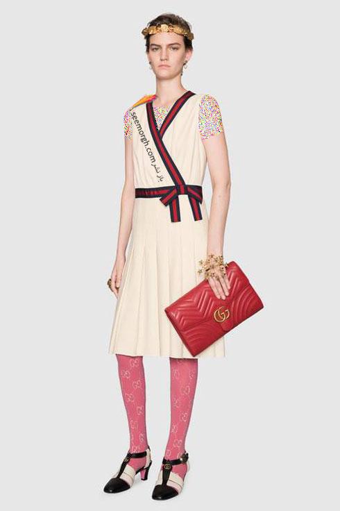 مدل لباس زنانه گوچی Gucci برای نوروز 97 ( بهار 2018 ) - عکس شماره 10