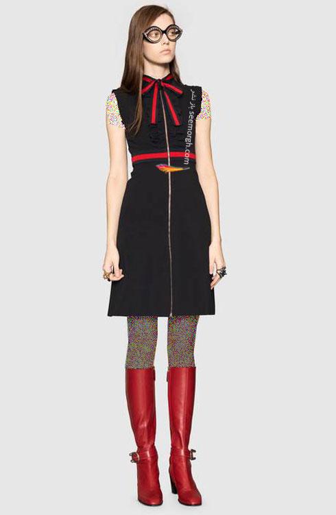 مدل لباس زنانه گوچی Gucci برای نوروز 97 ( بهار 2018 ) - عکس شماره 1