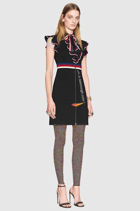 مدل لباس زنانه گوچی Gucci برای نوروز 97 ( بهار 2018 ) - عکس شماره 9
