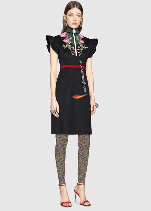 مدل لباس زنانه گوچی Gucci برای نوروز 97 ( بهار 2018 ) - عکس شماره 8