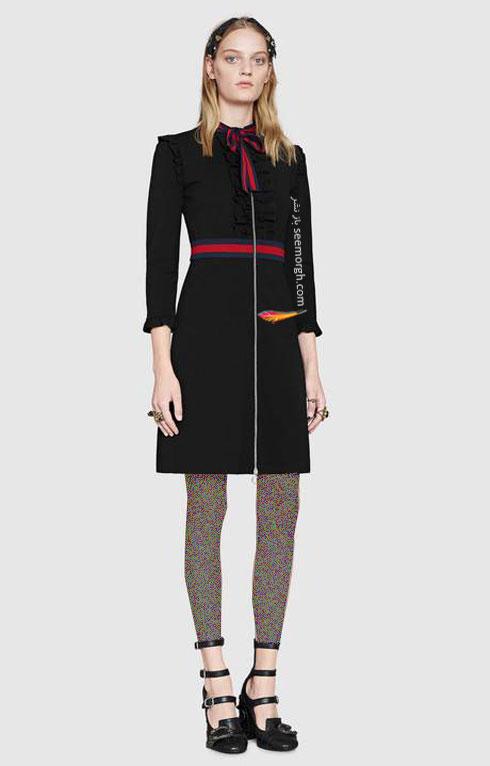 مدل لباس زنانه گوچی Gucci برای نوروز 97 ( بهار 2018 ) - عکس شماره 6