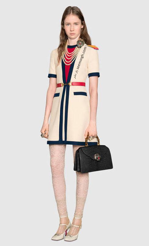 مدل لباس زنانه گوچی Gucci برای نوروز 97 ( بهار 2018 ) - عکس شماره 5
