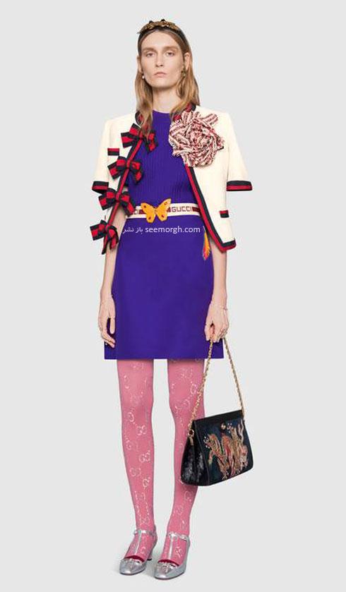 مدل لباس زنانه گوچی Gucci برای نوروز 97 ( بهار 2018 ) - عکس شماره 4