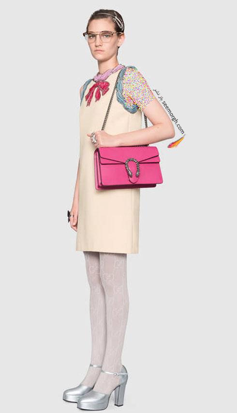 مدل لباس زنانه گوچی Gucci برای نوروز 97 ( بهار 2018 ) - عکس شماره 3