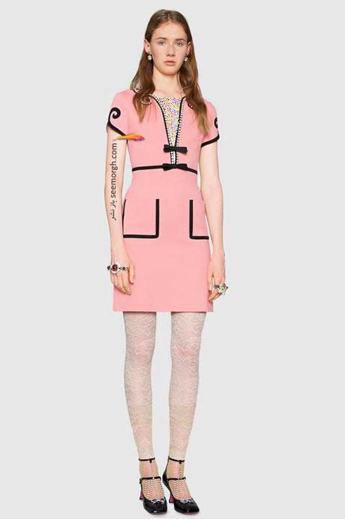 مدل لباس زنانه گوچی Gucci برای نوروز 97 ( بهار 2018 ) - عکس شماره 2