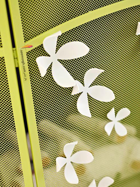 شومینه تان را به یک باغ گل معلق تبدیل کنید