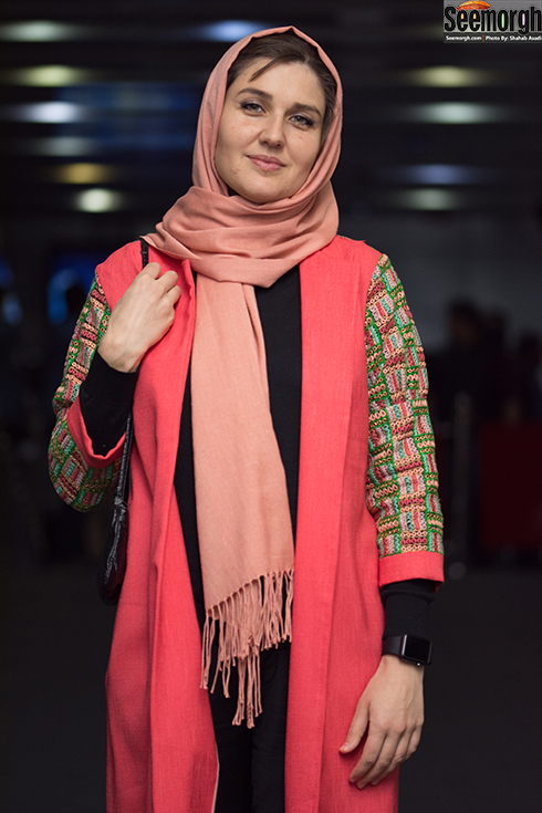 مدل مانتو بازيگران در هفتمين روز سي و ششمين جشنواره فجر - گلوريا هاردي