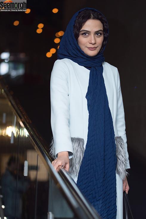 مدل مانتو بازیگران در هشتمین روز جشنواره فجر 96 - مارال فرجاد
