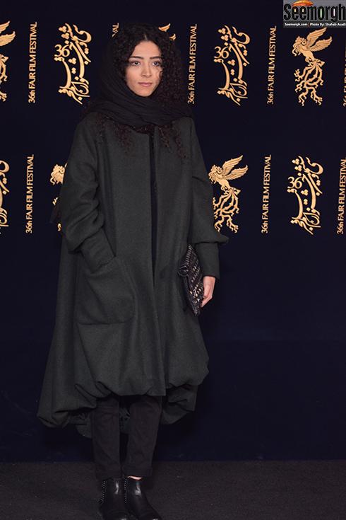 مدل مانتو بازیگران در هشتمین روز جشنواره فجر 96 - ساغر قناعت