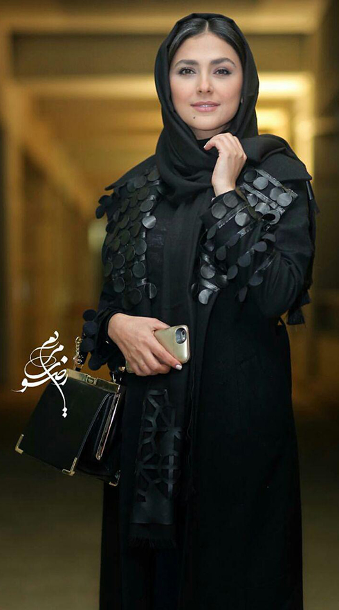 مدل مانتو بازيگران در اختتاميه جشنواره فجر 36 - هدي زين العابدين