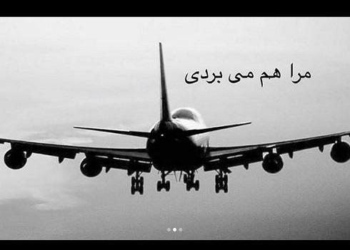 واکنش تند هدیه تهرانی به سقوط هواپیمای تهران یاسوج