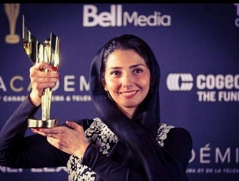 "بهترين بازيگر نقش مکمل زن "" آکادمي اسکرين اوارد "" کانادا تورنتو"