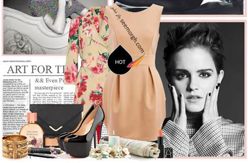 ست کردن پيراهن کوتاه به سبک اما واتسون Emma Watson - عکس شماره 1