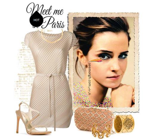ست کردن پيراهن کوتاه به سبک اما واتسون Emma Watson - عکس شماره 4