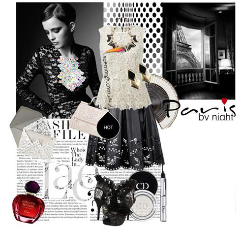 ست کردن پيراهن کوتاه به سبک اما واتسون Emma Watson - عکس شماره 2