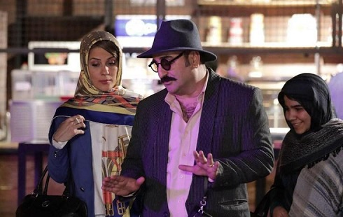 مهران احمدی و سارا بهرامی در سریال ساخت ایران 2