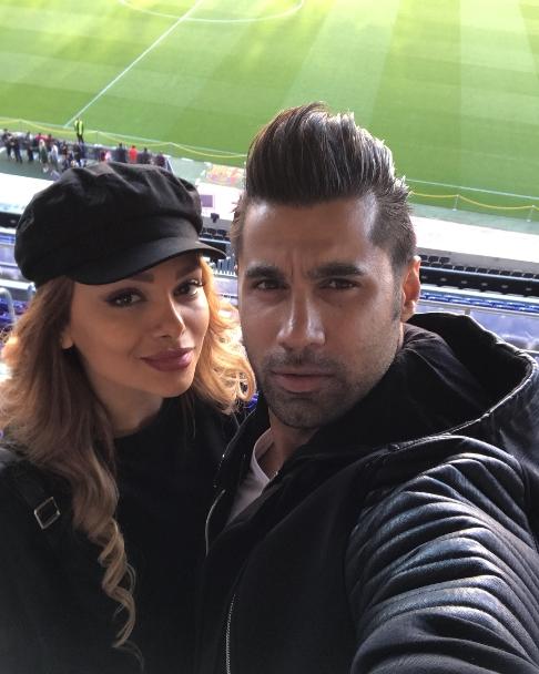 عکس جدید محسن فروزان و همسرش