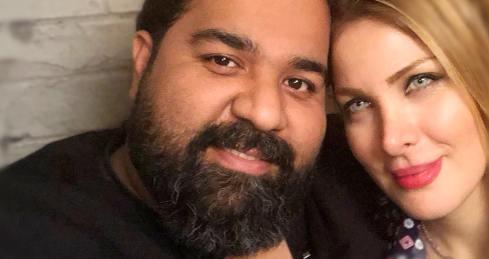 عکس رضا صادقی و همسرش
