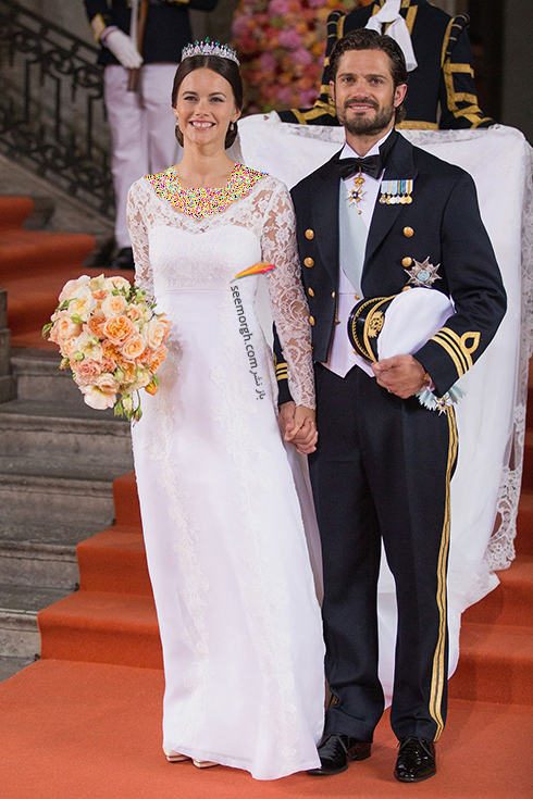 پرنس کارل فیلیپ Carl Philip و پرنسس سوفیا Sofia از سوئد