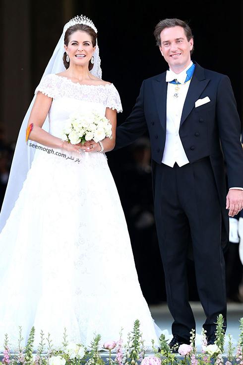 پرنسس مادلین Madeleine و کریستوفر اونیل Christopher O'Neill از سوئد