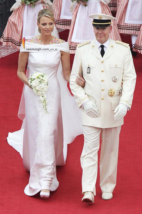 پرنسس چارلین Charlene و پرنس آلبرت Albert دوم موناکو