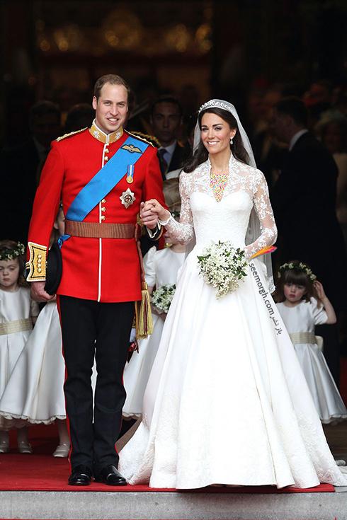 پرنس ویلیام   William و دوشس کیت میدلتون Kate Middleton
