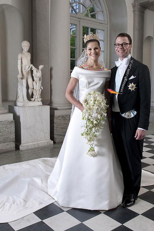 پرنسس ویکتوریا Victoria  و پرنس دانیل Daniel از سوئد
