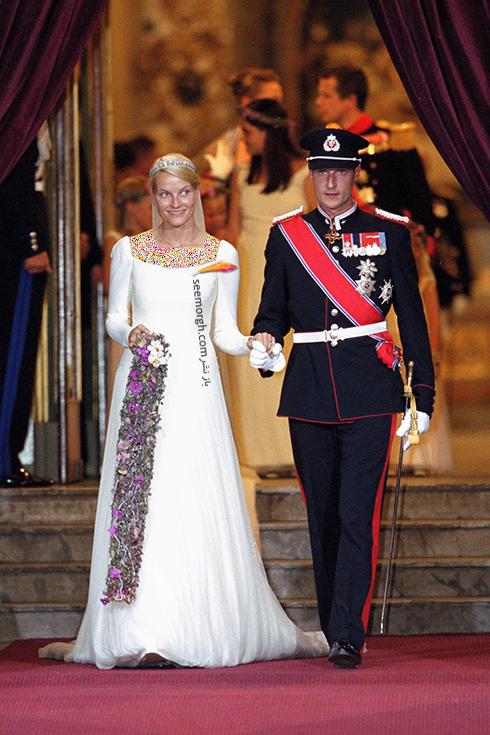 پرنسس مت مارت Mett-Marit و پرنس هاکون Haakon از نروژ