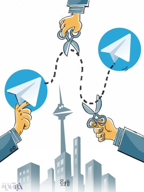 وضعيت تلگرام در ايران